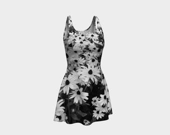 Chic Floral Flared Dress that will make you the hit of any Gala! - 25