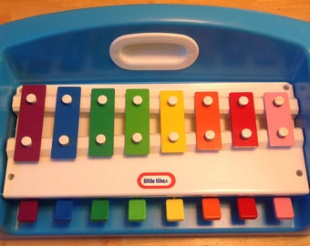 Vintage 1985 Little Tikes piano/Xylophone toy