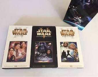 Star Wars Trilogy (VHS, 2000, Special Edition Episode II Footage)