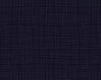 Linea - Linea in Indigo - Makower UK for Andover Fabrics - TP-1525-B9 - 1/2 yd