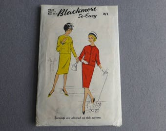 Vintage 1950s Blackmore Ladies Suit Sewing Pattern