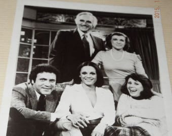 "The Mary Tyler Moore Show,"" Cast photo sent to fans of ""Rhoda"" in 1975."