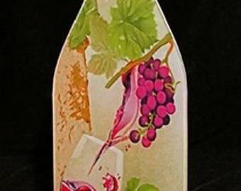 Grape Wine cutting board