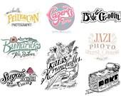Logo Design - Freehand Logo Design - Unique Logo Designs Just For Your Business - Hand Lettered Logo Design