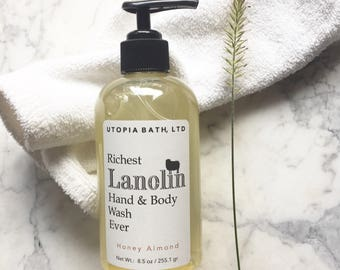 Lanolin Hand & Body Wash