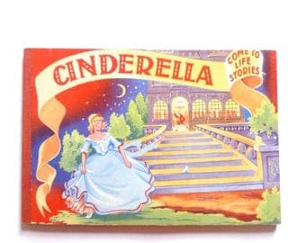 Cinderella Come To Life Series Pop-Up Book