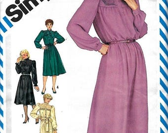 25% OFF Simplicity 6214 Misses (Miss Petite)  Dress Pattern, Two Lengths, Size 10, UNCUT