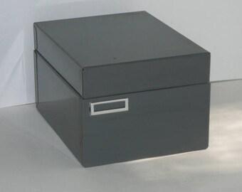 Vintage Gray Steelmaster File Box
