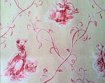 Pink Fabric - Pink Animal Print - P. Kaufman - Fabric By The Yard
