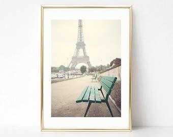 Wall art canvas, Paris wall art, canvas art, Paris print, Paris photography, Eiffel tower art,  Eiffel tower print extra large wall art