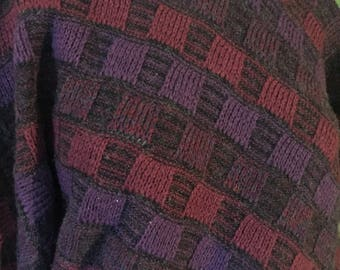 Vintage Colours by Alexander Julian Wool Chunky sweater