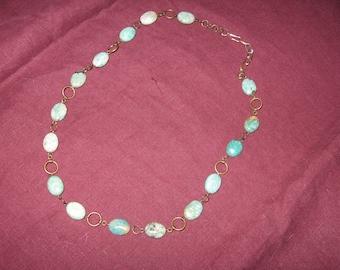 Little Roman Necklace - Turquoise