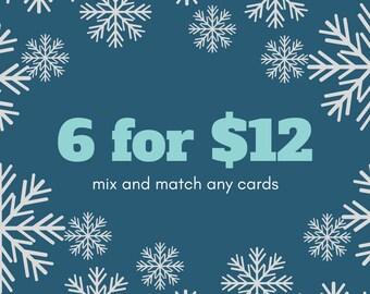 Holiday Card Bundle (6)