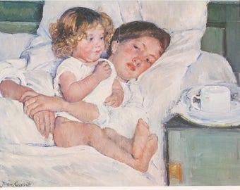 Mary Cassatt-A Panorama of American Painting-1975 Poster