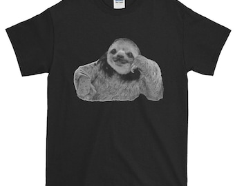 The Most Interesting Sloth in the World - Trendy Short-Sleeve T-Shirt