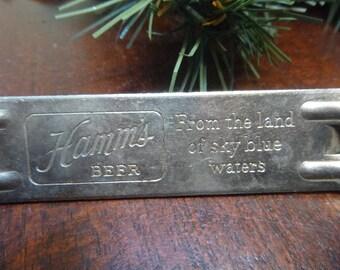Hamms Beer Bottle Opener  1959   (T)
