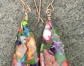 Mosaic Stone Earrings