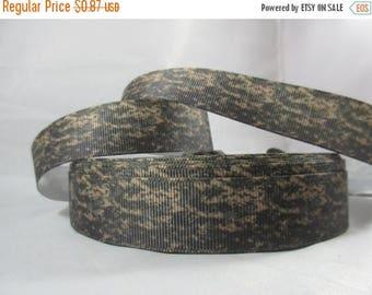 Camo Ribbon, Miltary camo Ribbon, soldiers, military craft, grosgrain ribbon,deployed spouse, wholesale ribbon, 7/8 Inch Ribbon, RN16110