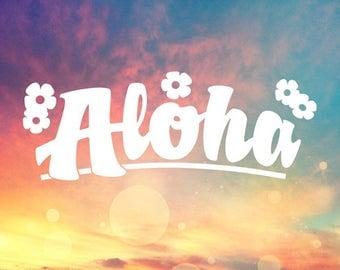 Plumeria Band Vinyl Decal Sticker Hawaii Plumeria Stickers - Custom vinyl decals hawaii