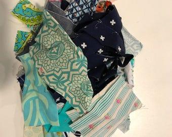 4.2 oz Blue designer scrap bag