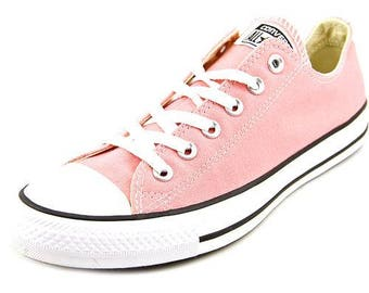 Custom Daybreak Pink Blush Converse Low Top US 5 1/2 Bling Wedding Bride w/ Swarovski Crystal Rhinestone Jewel Chuck Taylor All Star Shoes