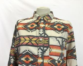 Inside Out Print Womens Shirt