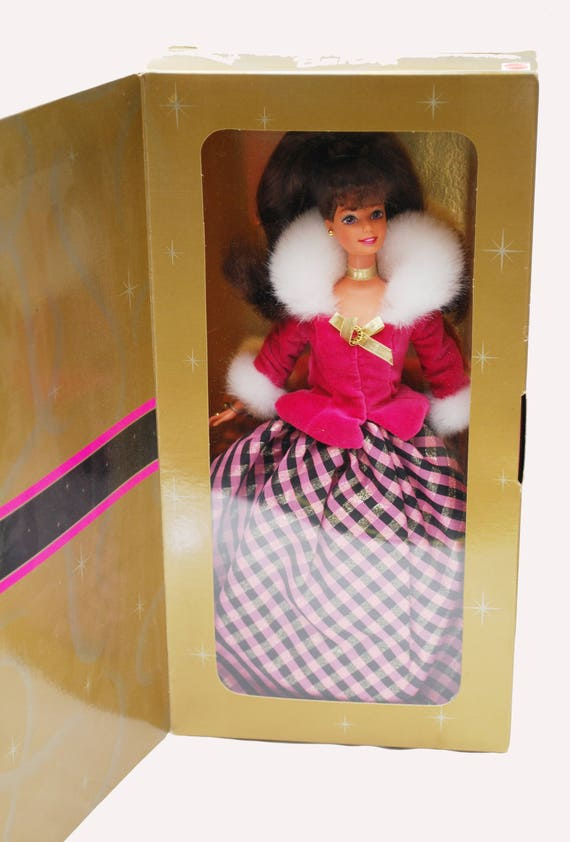 Avon Barbie - Winter Rhapsody - Brunette doll - 1996 edition Collectible Barbie doll