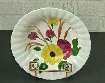 UCAGCO Serving Bowl - Sunflower Daisy Pattern - Made in the USA - UCAGCO Blue Ridge Southern Potteries