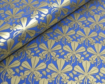 Rossi ItalianTuscan Paper - Liberty Leaves in Blue