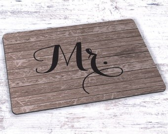 Mr Woodgrain Mousepad - 7.75 x 9.25
