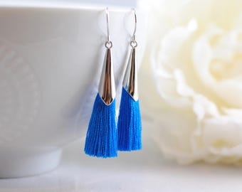 The Delia Earrings - Teal