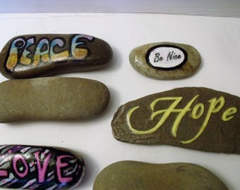 Stones for Painting, Perfect for Quotes, Affirmations, Hiding Stones and More