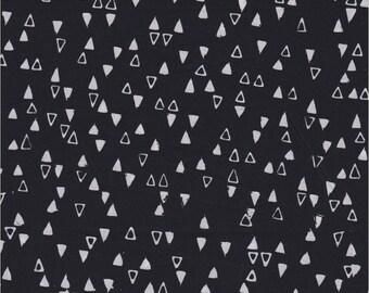 Modern Batiks, Studio E Fabrics, Triangles in Black