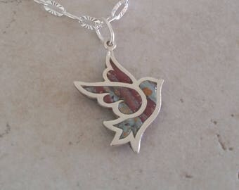 Custom Keepsake / Memorial Pendant or Necklace made from your Flower Petals or loved one's Hair or Pet fur or Cremains - ON THE WING