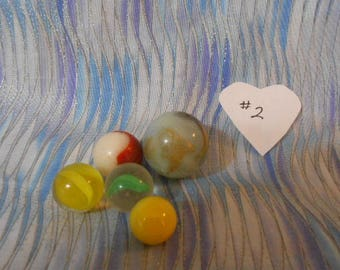 Vintage Playing Marbles-#2