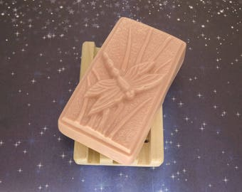 Karma like Lush Goats Milk Soap-Handmade with Patchouli Essential oil-Dragonfly