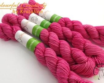 Raspberry Sorbet -  Colourful Smooth Sock Kitten