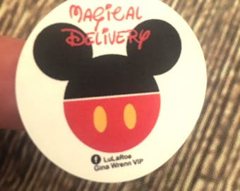 LuLaRoe Labels -  Magical Delivery Disney Labels - Personalized