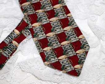 Vintage Duck Decoy Men's Tie - The Bob Timberlake Collection - For the Dressy Hunter - 100% Silk - Made in USA
