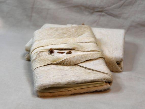 Cowhide journal or sketchbook - handbound leather - choose your size