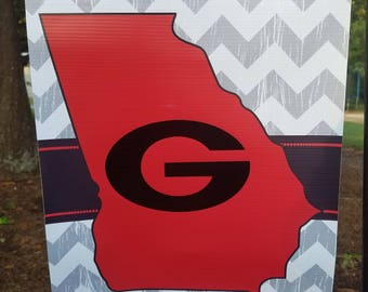 Uga Man Cave Signs : Best college football man cave in the world uga hershel walker
