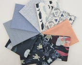 Dear Stella Into the Reef with Coordinating Basics Fat Quarter Bundle - 10 Fat Quarters - 2.5 yards