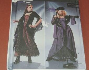 Uncut 4-8 Simplicity 9937 Costume