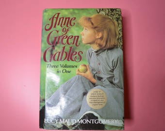 Book-Anne of Green Gables Three Volumes in One by Lucy Maud Montgomery