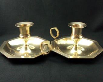 Brass Candleplates