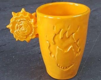 Junkrat Overwatch Ceramic Mug / Cup ~ 10 oz ~ Handmade Made USA