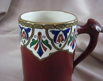 Antique  D.F. Haynes ware Tankard of  Khorassan Design