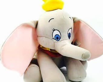 1 dollar shipping! Cute Disney Dumbo stuffed animal from Disney Park