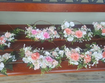 Flower girl tiaras, girls party, flower crowns. Made by a stay at home veteran.