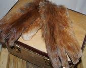 1950s Vintage Fur Gloves